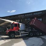 Container stellen Schulrenovierung, mit U530