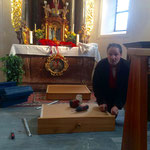 Reparaturarbeiten Alte Kirche