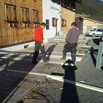 Gasthaus Älpele Veranda reparieren