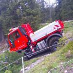 Spullerbachweg: U400, Feinplanietransport