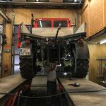 Reparaturarbeiten am U1600 Zapfwellenstummel
