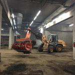 Bauhofgarage für Winterbetrieb vorbereiten