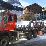 Nachbarschaftshilfe für Gemeinde Warth, Maschinentransport mit U530
