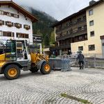 Arlberg Classic Car Rally - Rückbau