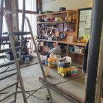 Bauhof Werkstatt auf Vordermann bringen