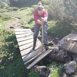 Brückenreparatur Lechweg