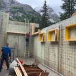 Projekt Zuger Säge, Baufortschritte