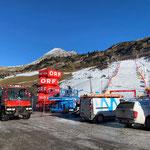 U400, Streuarbeiten Skiweltcup Zürs
