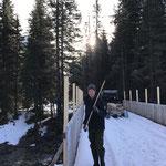 Geländererhöhungen montieren vordere Butzenbrücke