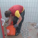 Arbeiten im Sanitärbereich, Waldbad Lech