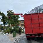 Schneebruch entfernen Omesberginsel