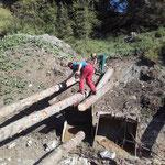 Holzschlägerungs- und Aufräumarbeiten Rudtobel