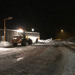 Lader 524 Schneeräumung Bauhof