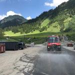 Straßenreinigung Umfahrungsstraße Anger