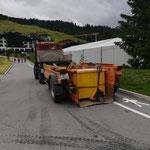 ACCR: Teppichkisten verladen, U1600 und Containerhänger