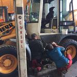 Hydraulikproblem beheben Lader 509