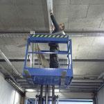Lampentausch Garage Bauhof