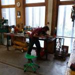 Kettensägenketten schleifen am Bauhof