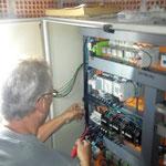Pumpwerk Oberlech, Steuerungsfehler nach Kurzschluss beheben, mit Robert Falch, ARA