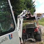 Sanierung Weg Bergbahn - Goldener Berg