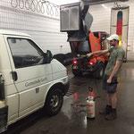 Fahrzeugpflege Waschhalle