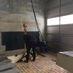 Gemeinde-Beleuchtung in ARA bringen und lagern
