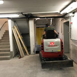 Schremmarbeiten Liftschacht Feuerwehrhaus Lech