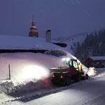 Holder C70 SC Schneeräumung am Anger
