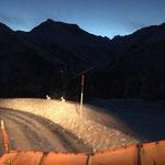 Schneeräumung Oberlech, mit U400