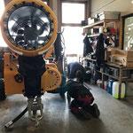 Rückbau mobile Schneekanonenplattform, Vorbereitungen zur Rückgabe