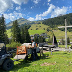Grillplatz Stubenbach befüllen und Müll abholen