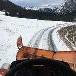 Winterdienst zum Älpele, mit U400