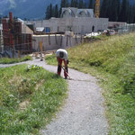 Wegsanierung Bergbahn Oberlech-Goldener Berg
