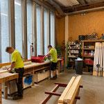Baustellen-Beleuchtung Untergeschosse GZL vorbereiten
