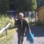 Müllsammmeln Wanderwege