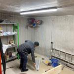 Fertigstellung Lüftungsanlage Garderoben und Nasszellen