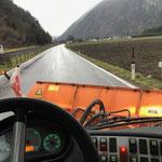 U1600-Ersatzgerät Lindner Unitrac 102 S aus Nüziders nach Lech überstellen
