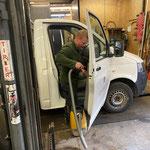...Fahrzeugpflege am Bauhof