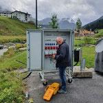 Stromversorgung kontrollieren