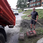 Baustelle fertig machen