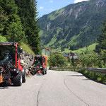 Holder-Unkrauteinsatz Bruchhalde Richtung Zug