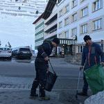 Ortsverschönerung und Müllzwicken in Zürs