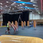...und Sportpark nach Lech Classic Festival neu bestuhlen