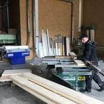 Vorbereitungsarbeiten Geländer Spullerbachbrücke
