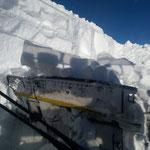 Winterwanderweg Kriegeralpe mit Paana präparieren