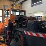 Rolba 1500, repariertes Getriebe einbauen und wieder zusammenbauen