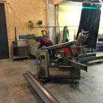Projekt Türen LZTG, Rahmennachbau in der Schlosserei