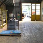 Haltestellengläser für Ortsbus Lech in Dornbirn abholen