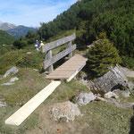 Brückenreparaturarbeiten Lechweg