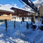 Skiabfahrt Tannberg, Netze freimachen